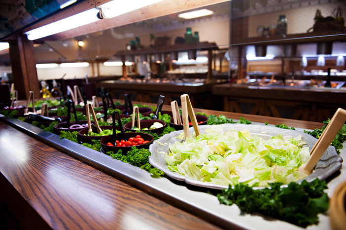 We don't like to toot our own horn, but our Soup & Salad Bar is the best in the area!