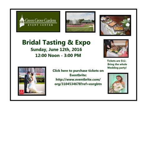 Gospel Sing and Bridal Expo at Green Grove Gardens in Greencastle....
